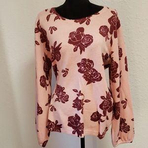 ELLE Pink Soft Rose Sweater XXL